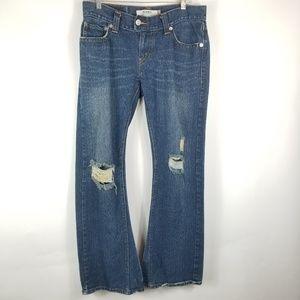 Vintage Levi's 504 Slouch Woman Jeans Sz 11 Flare